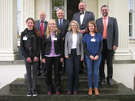 Bild vom Besuch des International Livestock Research Institute (ILRI)